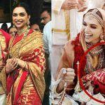 Deepika Padukone's Gorgeous Red Sabyasachi Banarasi Silk Saree is Actually a Wedding Gift From Ranveer Singh's Parents