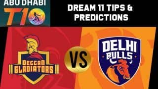 Dream11 Team Prediction Deccan Gladiators vs Delhi Bulls : Captain And Vice Captain For Today Match 2, Abu Dhabi T10 Premier League Between DEG vs DEB at  Sheikh Zayed Stadium in Abu Dhabi. 8:15 PM IST November 15