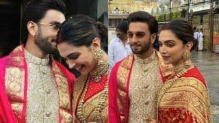 Deepika Padukone And Ranveer Singh Wedding Anniversary: Celebrities And Fans Pour in Wishes For DeepVeer