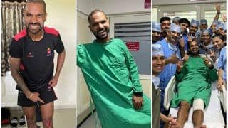 Shikhar Dhawan Taken to Hospital After Suffering Knee Injury During Syed Mushtaq Ali Trophy 2019