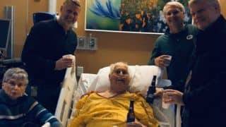 Dying Grandpa Asks For One Last Beer With Sons, Photo Goes Viral as Twitter Turns Emotional