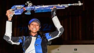 ISSF World Cup Finals 2019: Elavenil Valarivan Claims Gold in Women's 10m Air Rifle