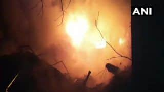 Mumbai: Fire Breaks Out at Godown of Parmar House Industrial Estate in Malad