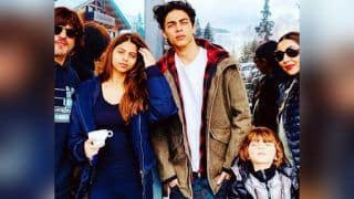Shah Rukh Khan's Stunning Family Picture From Swiss Alps Willl Surely Brush Aside Your Monday Blues