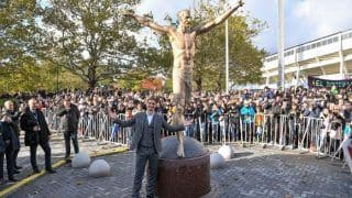 Zlatan Ibrahimovic's Bronze Statue Weighing 500 Kgs Vandalised