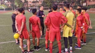 """FIFA World Cup 2022 Qualifiers: India Hit The """"Turf"""" Running"""