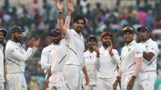 India vs Bangladesh Pink-Ball Test: Bangladesh Bowled Out for 106; Five-Wicket Haul For Ishant Sharma