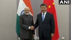 'Glad to Meet You Again', Modi Meets Xi Jinping at BRICS Summit Amid Indo-China Tension Over Kashmir, RCEP