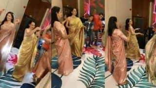 Kangana Ranaut Performs Pahadi Folk Dance Nati With Rangoli Chandel And Others at Her Brother's Engagement - Viral Video