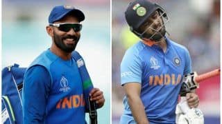 Dinesh Karthik Hopeful of India comeback for ICC T20 World Cup as a Finisher; Should Rishabh Pant Be Worried?