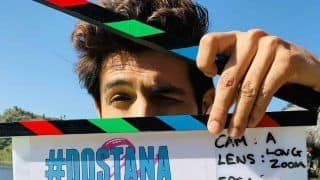 Kartik Aaryan Posts Picture From Sets of Dostana 2 as he Begins Shooting With Janhvi Kapoor in Chandigarh