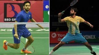 China Open 2019: End of The Road For Parupalli Kashyap And Sai Praneeth