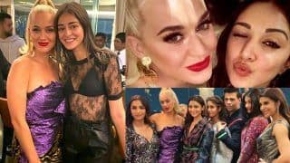 Karan Johar's Party For Katy Perry: Bollywood Gives Warm Welcome to International Singer