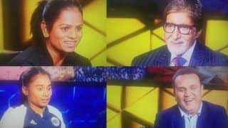 KBC 11 Nov 1 Karamveer Episode Highlights: Hima Das And Dutee Chand Win Rs 12,50,000 With Virender Sehwag's Help