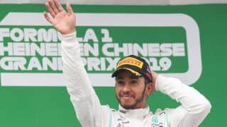 Lewis Hamilton Clinches Sixth F1  World Championship Title