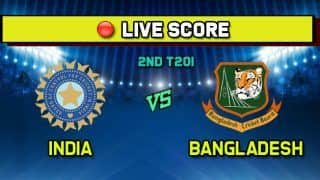 Live Cricket Score India vs Bangladesh, IND vs BAN 2nd T20I, Rajkot, 7:00 PM IST, November 7