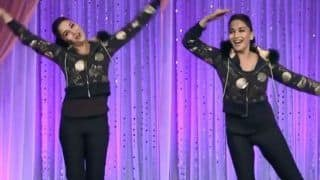 Madhuri Dixit Dances on 'Ek Do Teen' Song to Celebrate 31 Years of Tezaab- Watch
