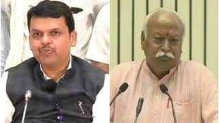 Maharashtra: Good News Can Come at Any Moment, Says BJP; RSS Tightlipped About Bhagwat's Meeting With Fadnavis