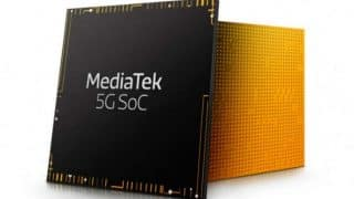 MediaTek to announce a 5G-capable chipset in November 26: Report