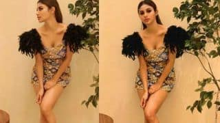 Mouni Roy Shows Her Love For Bling Dresses, Oozes Oomph in Envious Figure