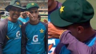 WATCH: 16-Year-Old Tearaway Pacer Naseem Shah Gets Emotional While Receiving Test Cap From Waqar Younis