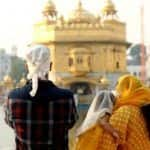 Neha Dhupia And Angad Bedi Take Daughter Mehr to The Golden Temple on 1st Birthday - Viral Photos