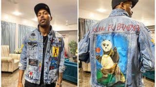 Hardik Pandya Unveils  His Custom Made 'Kung Fu Pandya' Jacket | SEE PICTURES