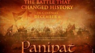 Panipat: Sanjay Dutt Shares New Poster of Ashutosh Gowariker's Period Drama, Releases on THIS Date