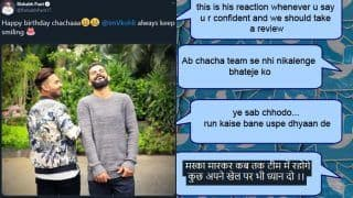 Did Rishabh Pant Get Trolled For His Cheeky 'Chachaaa' Virat Kohli Birthday Wish?