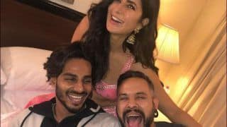 Katrina Kaif's Candid Laugh With Her 'Best Boys' is All The Positive Energy You Need to Start Your Friday on!