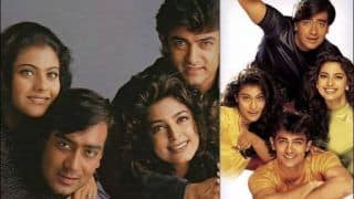 Juhi Chawla's Throwback Pictures With Kajol-Ajay Devgn-Aamir Khan Set Fans Nostalgic, Celebrates 22 Years of Ishq
