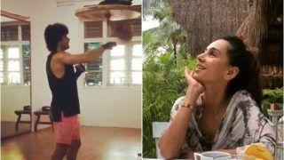 Farhan Akhtar's 'Beast Mode' While Training For Toofan Leaves GF Shibani Dandekar Impressed, Video Goes Viral