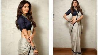Karishma Tanna Flaunts Perfect Waistline as She Raises Bar For Saree Draping Goals, Sultry Pictures go Viral