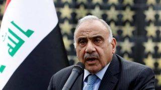 इराक के प्रधानमंत्रीआदिल अब्दुल-महदी ने की इस्तीफे की घोषणा, बढ़ते विरोध आंदोलन का दबाव है मुख्य कारण