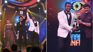 Bigg Boss Telugu 3: Playback Singer Rahul Sipligunj Takes Home Winner's Trophy-Rs 50 Lakh Cash Prize