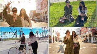 Sonam Kapoor Ahuja-Rhea Kapoor Slay in Sultry LA Sunset, Viral Pictures Give Fans Serious Sister Goals