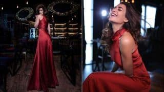 Karishma Tanna's Sultry Pictures in Red Hot Dress Set The Internet Ablaze, Fans Demand 'Zillion Likes'