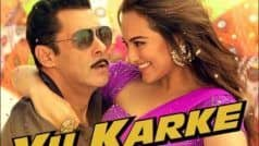 Dabangg 3 Song Yu Karke Out: Salman Khan-Sonakshi Sinha Drop Video of 'Naughty Romance'