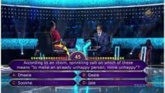 KBC 11 November 19 Episode Highlights: Kashmiri Pandit Ankita Kaul Becomes Rollover Contestant