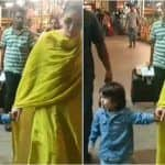 Taimur Ali Khan Sticking Out His Tongue at The Paps While Walking With Mommy Kareena Kapoor Khan is Funniest Thing on Internet Today!