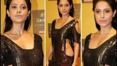 Nushrat Bharucha's Sizzling Look in Metallic Dress Amps Hotness Quotient at Golden Thistle Awards