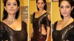 Nushrat Bharucha's Sizzling Look in Metallic Dress Amps Hotness Quotient at Golden Thistle Awards