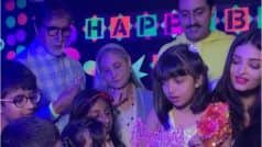 AbRam, Roohi-Yash And Other Celebrity Kids Amp Cuteness Quotient at Aaradhya Bachchan's Bday Bash