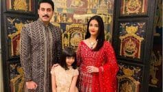 Aishwarya Rai's Radiant Family Picture With Abhishek Bachchan And Aaradhya Leaves Fans Smitten