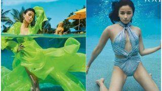 आलिया भट्ट ने वोग मैगजीन के लिए कराया अंडर वाटर फोटोशूट, पानी में मछली की तरह लहराती दिखीं