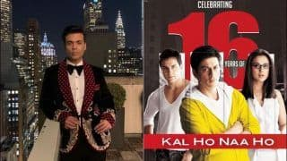 Shah Rukh Khan-Preity Zinta-Saif Ali Khan's Kal Ho Naa Ho Clocks 16 Years, Karan Johar Calls it 'Love of a Lifetime'