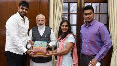 दंगल गर्ल बबीता फोगाट ने पीएम मोदी को दिया शादी का न्यौता, इस दिन बनेंगी दुल्हन