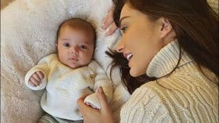Amy Jackson Just Made Snuggle Weather Look More Adorable And THIS Picture With Son Andreas is Proof!