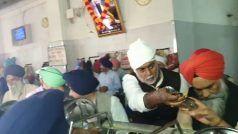550वां प्रकाश पर्व: केंद्रीय मंत्री प्रहलाद सिंह पटेलने धोएबर्तन, कहा- गुरु नानक देव जी की शिक्षा अपनाएं लोग