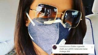 Priyanka Chopra Trolled For Wearing Mask in Delhi Air Pollution After Smoking Cigars And Burning Crackers